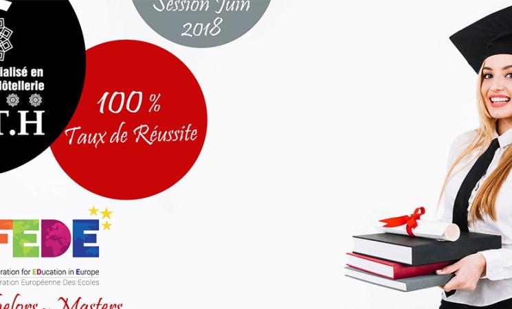 Résultats de la session de Juin 2018 – Bachelors & Masters